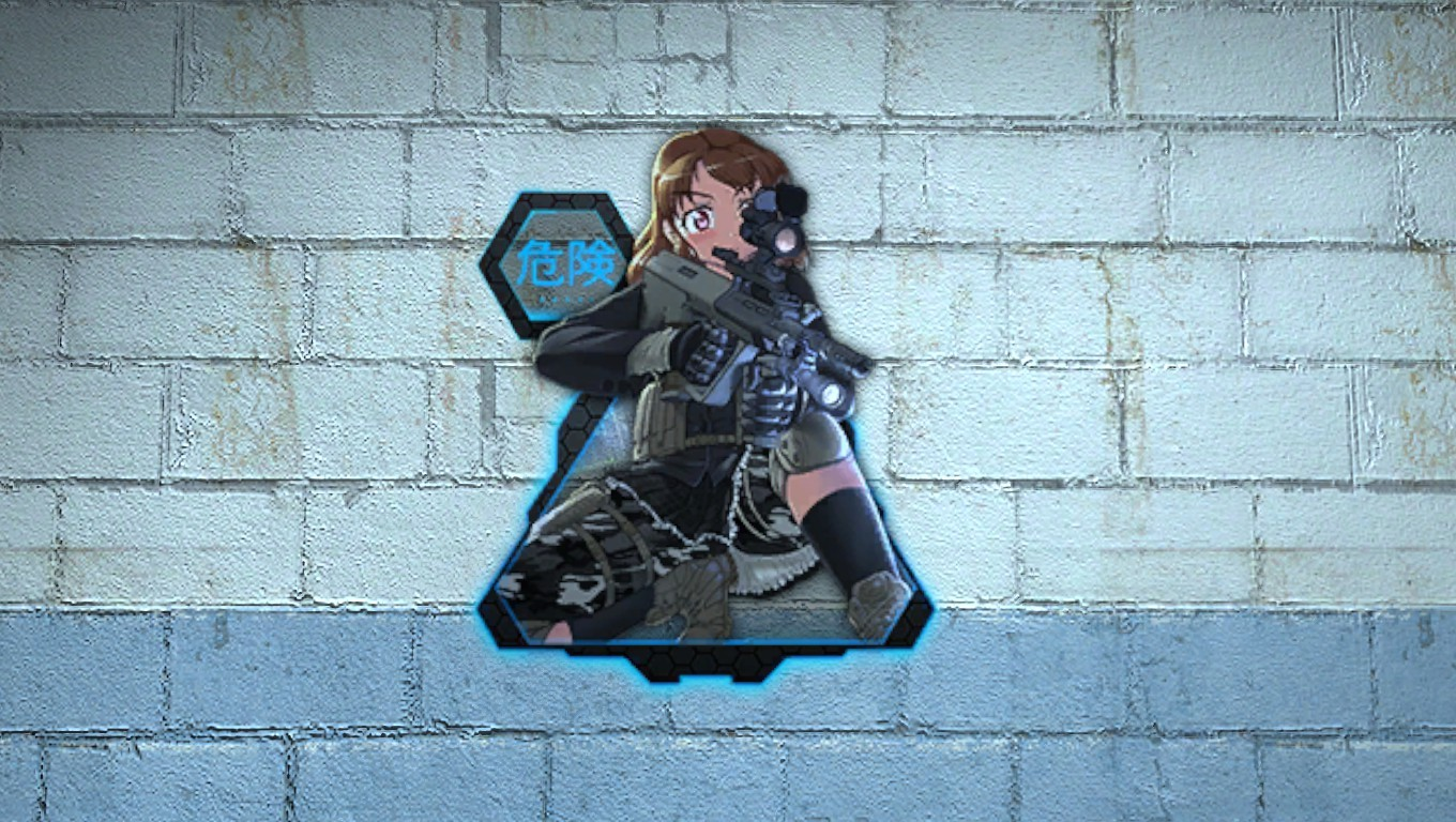 спрей для css mercenary girl